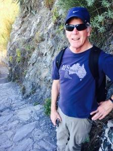 the cinque terre trail w/Bob