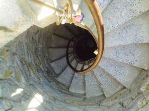 stairs in Vernazza tower